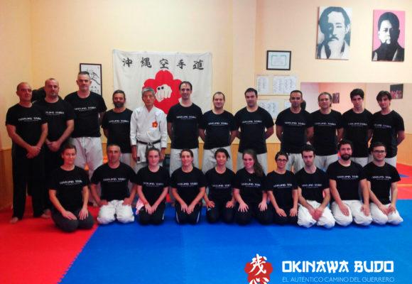 Primeros días del curso con el Maestro Sihan Tamano