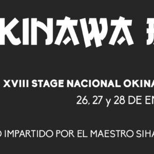 XVIII STAGE NACIONAL OKINAWA BUDO KAISAI SHOREIKAN MURCIA 2018